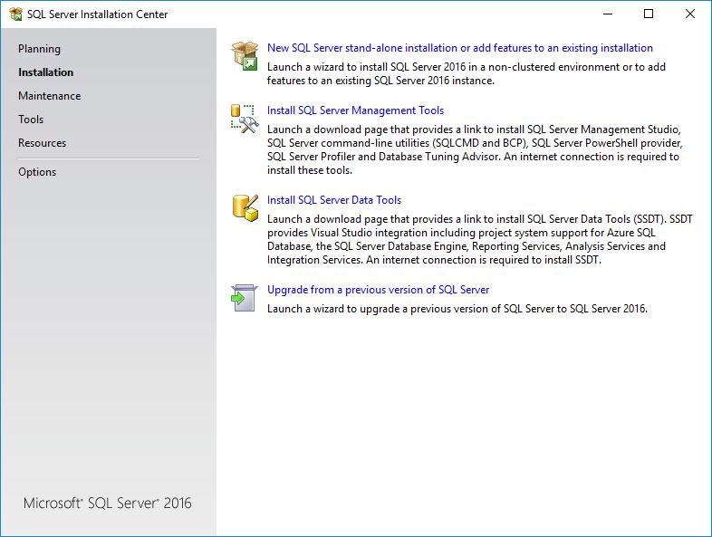Installation of SQL Server Engine — Querona documentation